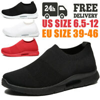 Men's Sneakers Lightweight Sports Breathable Running Tennis Shoes Athletic Gym