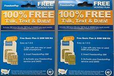 FreedomPop Basic Free SIM Card Kit