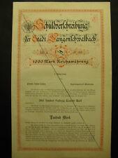 Colpa prescrizione della città lunghi raddoppio 1880 Wiesbaden