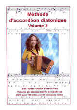 Accordéon diatonique méthode + DVD volume 2 de Yann Fanch Perroches