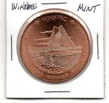 (J) Winnipeg Mint Copper Medal
