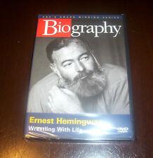 Biography Ernest Hemingway Author Hunter Adventurer Books A&E Classic TV DVD NEW