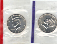 1999 P+D KENNEDY HALF UNCIRCULATED STILL IN MINT CELLO L@@K