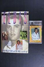 Elvis Hair Card LE 0658 of 5000 The King's Hair COA + Precious Memories Book NEW