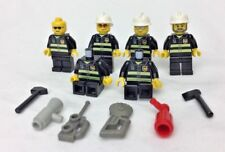 LEGO City Firefighter Minifigures x6 Lot Firemen w/ Tools