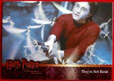 HARRY POTTER - SORCERER'S STONE - Card #076 - THEY'RE NOT BIRDS - Artbox 2005