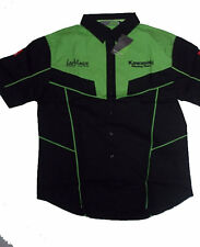 "Kawasaki Racing Team Shirt   NEW   Official Merchandise   Petit 36"" Tour De Poitrine,"
