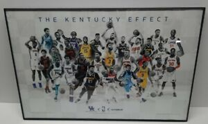 "Kentucky Wildcats 2020 "" The Kentucky Effect"" Poster Limited Edition FRAMED🔥🔥"