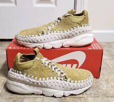 los angeles 3b239 65462 NIKE AIR FOOTSCAPE WOVEN CHUKKA QS 913929-700 FLAT GOLD OREWOOD DS SIZE   10.5