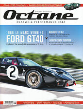 OCTANE August 2016 FORD GT40 Aston Martin DB3 McLAREN MP4-12C LEC F1 @New@