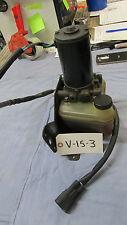 Volvo Penta trim pump and bracket, 3819846, trim motor, trim and tilt, V-15-3