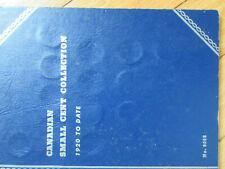 Set of Canada Small Cents (1920-1972). BETTER GRADES IN WHITMAN FOLDER (SR10)
