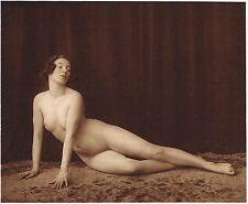 1920's Vintage German Female Nude Model Art Deco Paulsen Photo Gravure Print
