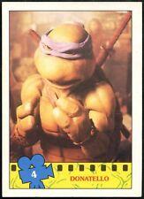 Donatello #4 Teenage Mutant Ninja Turtles The Movie 1990 Topps TradeCard (C1324)
