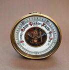 Antique+Vtg+Brass+German+Barometer+ATCO+1613+Germany+Desk+Top+Rainy+Stormy+Dry