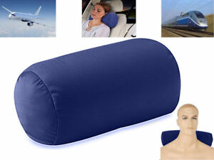 Slumber Roll Beanie Pillow Micro-bed Traveller Neck Support Back Head Cushion