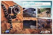 NEW JOBY GORILLAPOD SLR-ZOOM TRIPOD FOR SLR CAMERAS WITH BALLHEAD JB00134-CEN