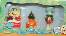 Spongebob Squarepants Exclusive Holiday Ornament Gift Set Squidward Kurt S Adler