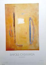 RAFOLS CASAMADA - CARTEL EXPOSICIÓN ORIGINAL 1994 - Medidas 70 x 50 cm. Aprox.