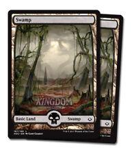 2x Swamp (Version 1) - Full Art - Hour of Devastation - NM - English - MTG