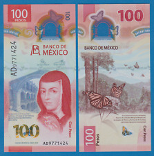 Mexico 100 Pesos P NEW 2020 UNC Polymer Low Ship! Combine FREE!