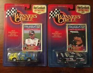 2X 1998 Winners Circle Lifetime Dale Earnhardt 2,& 8 of 12 1997