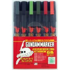 Gunze GSM108 Bandai Gundam Zeon Marker set #6 GSM-108