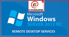 "Windows Server 2012 R2 Remote Desktop Services RDS 50 USER CAL LICENSE+@!""@"