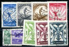 UNGARN 1933 502-510 gestempelt SATZ FLUGPOST 200€(I1052