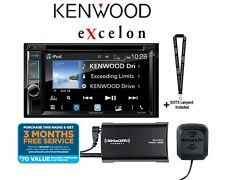 """New listing Kenwood eXcelon Ddx595 6.2"""" Dvd Receiver w/ SiriusXm Tuner and Antenna Included"""