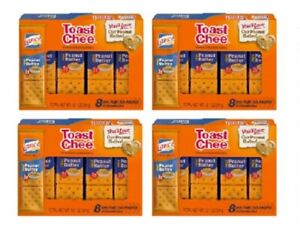 Lance Toast Chee Peanut Butter Sandwich Crackers 4 Pack
