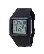 NEW RIP CURL SURF MAUI MINI TIDE QUARTZ BLACK BLUE SPORT WRIST WATCH