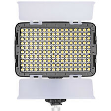 Neewer OE-160C Dimmable LED Barndoor On Camera Video Light for Canon