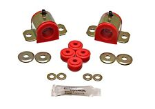 Energy Suspension Sway Bar Bushing Set Red Front for 92-01 Prelude # 16.5123R
