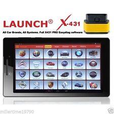 """Launch x431 PRO3 Pro Diagnostics cars Vans Service oil reset dpf regen 7"""" Tablet"""