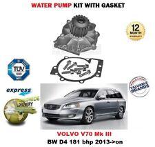 WATER PUMP for VOLVO V70 Mk III BW D4 181 bhp 2013->on OEM: 3136817-9 4423053