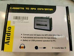 Tape to USB Flash Cassette MP3 File Converter Capture Digital Audio Music Player