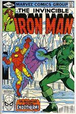 IRON MAN #136 - Iron Man vs Endotherm