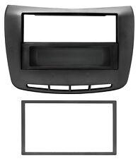 Mascherina autoradio ISO/2Iso/Doppio DIN nero lucido LANCIA Delta 10  03196