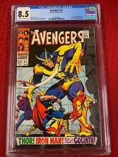 Avengers 51 - CGC Graded.  Full page ad for Iron Man #1 and Sub-Mariner #1
