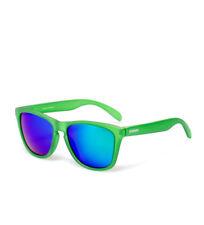 Gafas de sol de hombre de espejo cuadradas verdes