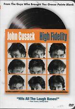 High Fidelity (Dvd, 2000) Stars John Cusack! ShipsFree!