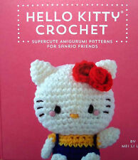 Hello Kitty Crochet Book  Amigurumi  Many Patterns  Absolutely Adorable!