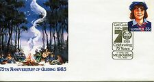 Australia 1985 75th Anniversary of Guiding Embossed 33c Stamped Envelope