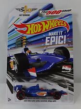 Hot Wheels MADE IT EPIC! 2016 Indy 500 100th Running 1:64 DieCast Race Car DXY60