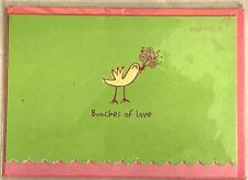 PAPYRUS MOTHER'S DAY CARD:  Bunches of Love, Bird with Bouquet