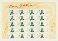 AUSTRALIA SEASON'S GREETINGS 40c STAMP SHEET SHEETLET - MINT & PERFECT