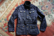 BARBOUR INTERNATIONAL BARBOUR cappotto giacca 8-9Yr, Abito TRAPUNTATO Inverno Neve Sci