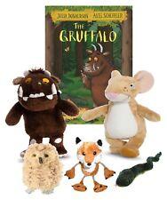 Gruffalo & Mouse Soft Toy Fox Owl Snake Finger Puppet Book Set Story EYFS KS1/2
