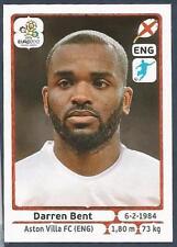 PANINI EURO 2012- #508-ENGLAND-ASTON VILLA-DARREN BENT